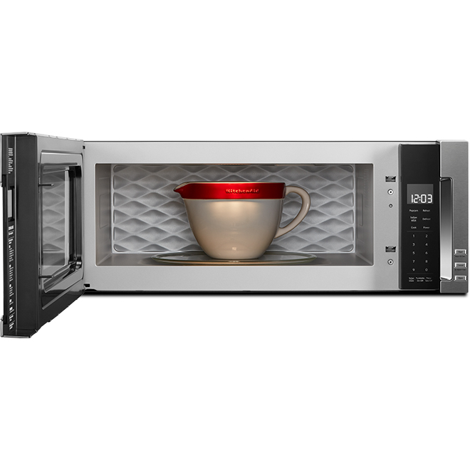 KitchenAid Low-Profile Over-the-Range Microwave - 1000 W -  1.1-cu ft - Stainless Steel