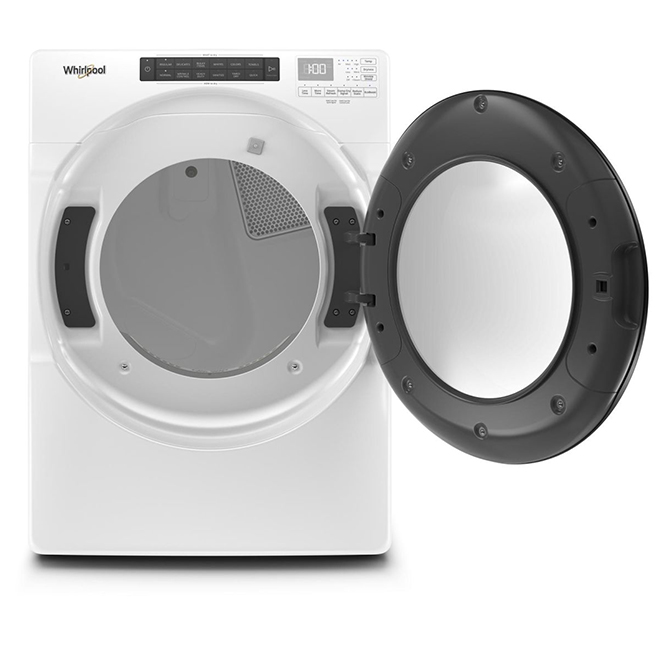 """Electric Dryer with Steam Cycles - 27"""" - 7.4 cu. ft. - White"""