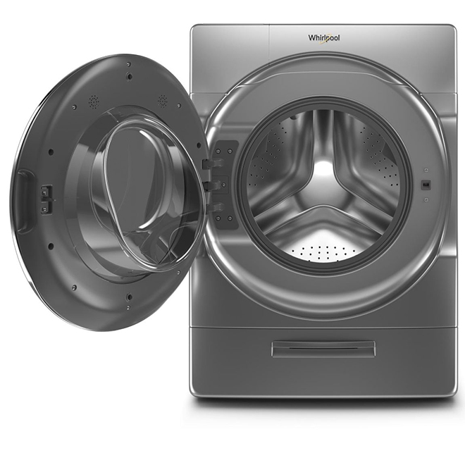 Whirlpool Front-Load Washer - 5.8 cu. ft. - Chrome Shadow