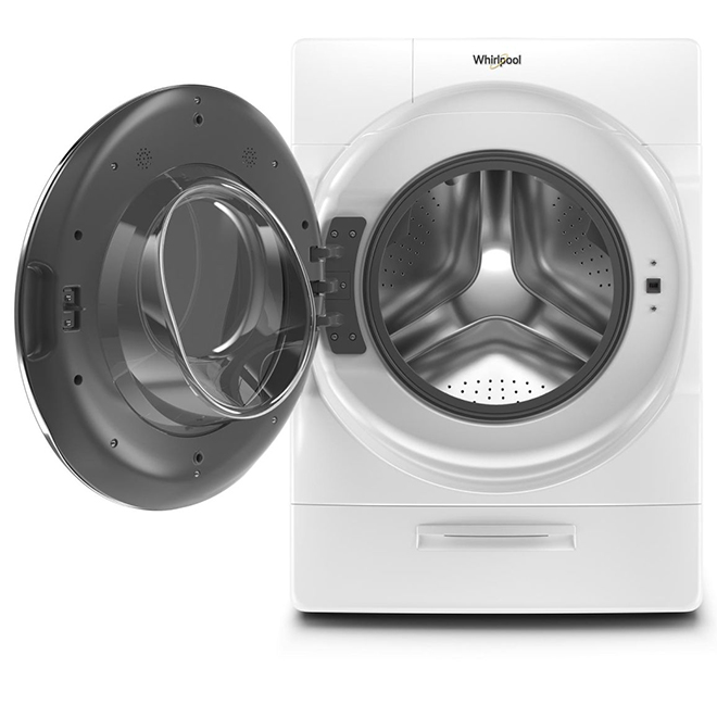 Whirlpool Front-Load Washer - 5.8 cu. ft. - White