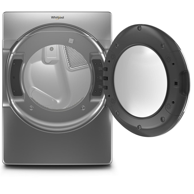 Electric Dryer with Steam - 7.4 cu. ft. - Chrome Shadow