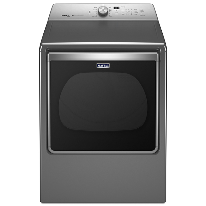Maytag Electric Dryer with Steam Cycle - 8.8 cu. ft. - Slate