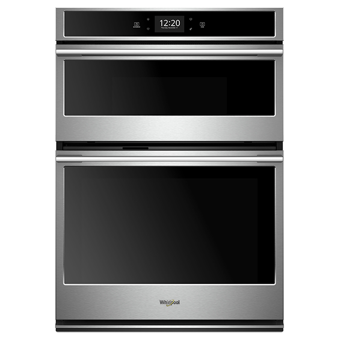 "Whirlpool(TM) Wall Oven with Microwave - 30"" - 6.4 cu. ft. - SS"