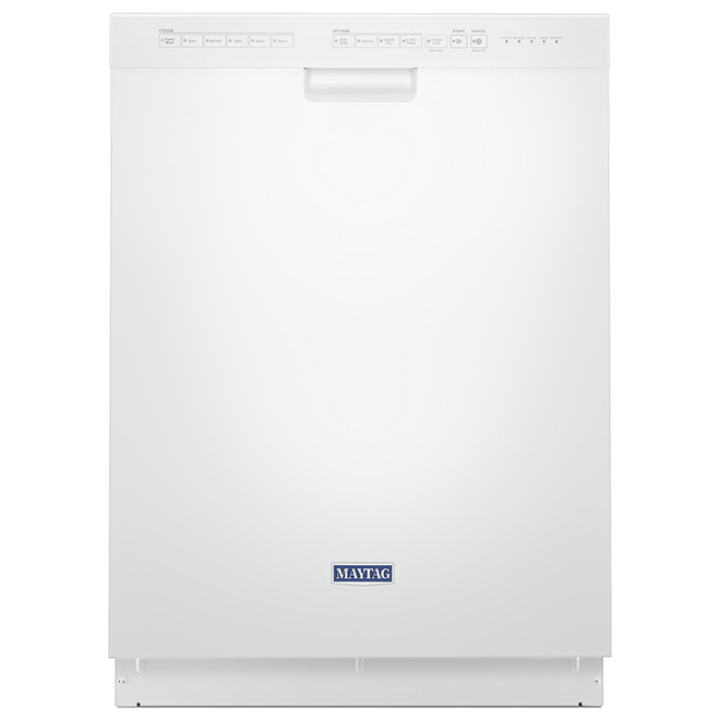 """Maytag(R) Built-In Dishwasher - 6 Cycles - 24"""" - White"""