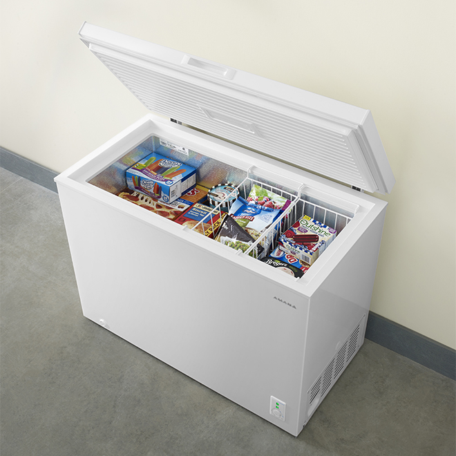 "Amana(R) Chest Freezer - 44"" - 9.0 cu. ft. - White"