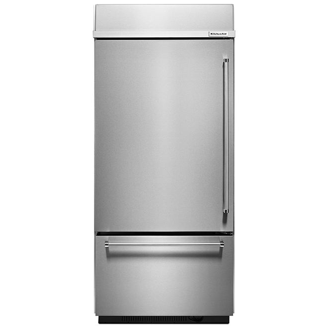 """Built-In Refrigerator - Right Handle - 36"""" - 20.9 cu. ft. - SS"""