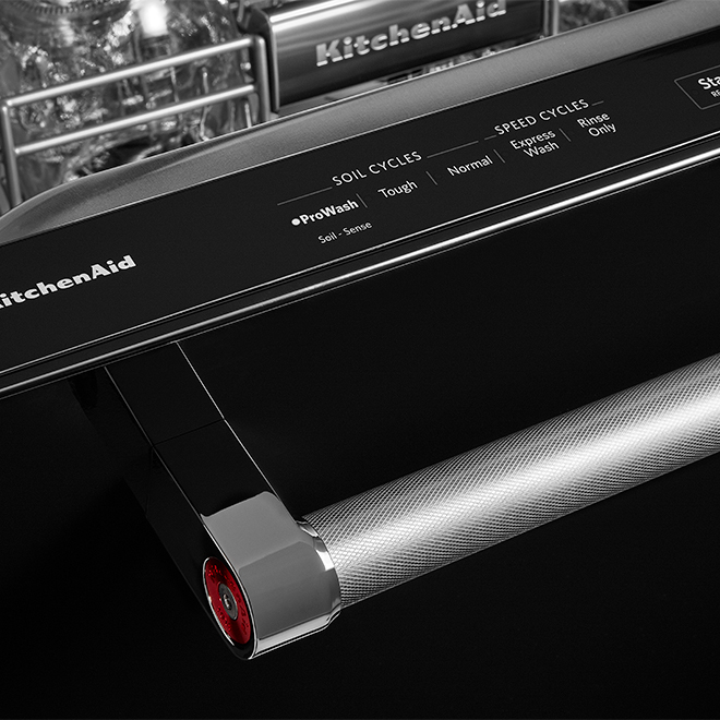 "Built-In Dishwasher - 3 Racks - 24"" - Black"