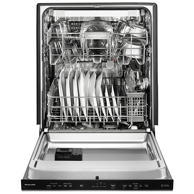 "Built-In Dishwasher - ProWash Cycle - 24"" - Stainless Steel"