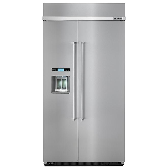 "Side-by-Side Refrigerator - 42"" - 25.5 cu. ft. - SS"