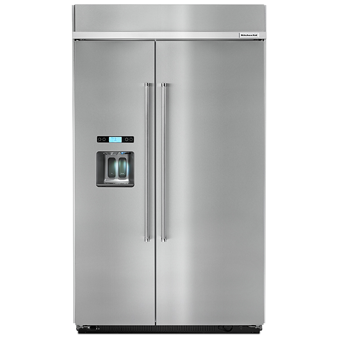 "Side-by-Side Refrigerator - 29.5 cu. ft. - 48"" - SS"