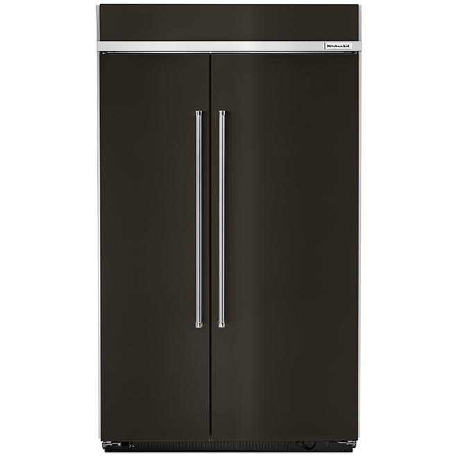 Side-By-Side Refrigerator - 30.02 cu. ft. - Black SS