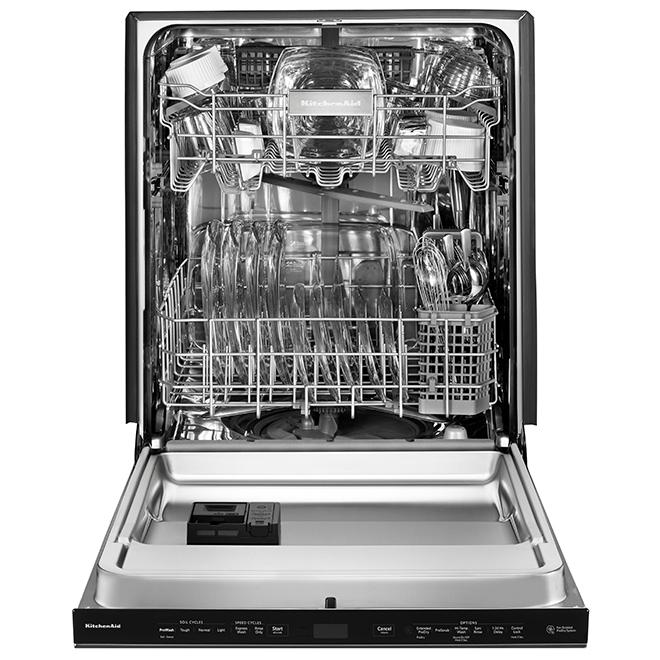 "Built-In Dishwasher - ProDry System - 24"" - Black SS"