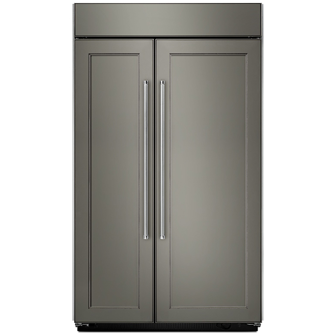 """Side-by-Side Refrigerator - 42"""" - 25.5 cu. ft. - Panel Ready"""