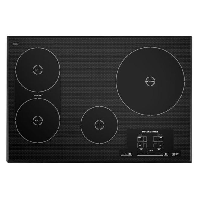 "4-Element Induction Cooktop - 30"" - Black"