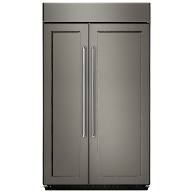 "Side-by-Side Refrigerator - 48"" - 30.0 cu. ft. - Panel Ready"