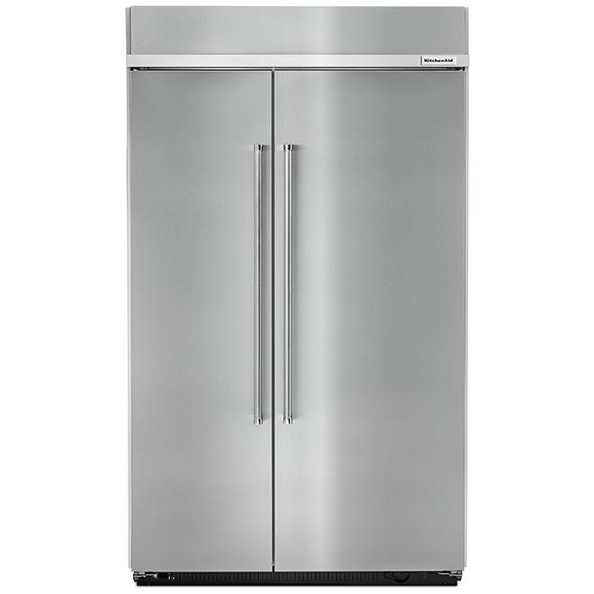 "Side-by-Side Refrigerator - 48"" - 30.0 cu. ft. - SS"
