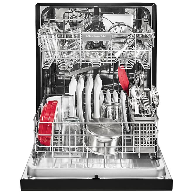 """Lave-vaisselle encastré, avec PrintShield, 24"""", noir"""