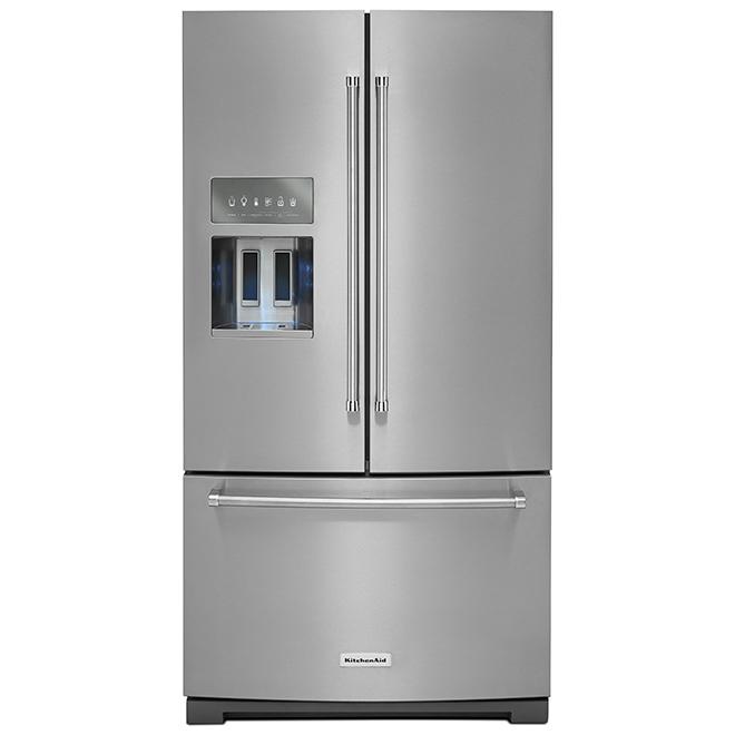 "French-Door Refrigerator - 36"" - 26.8 cu. ft. - SS"