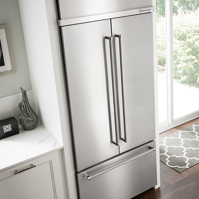 "French-Door Refrigerator - 42"" - 24.2 cu. ft. - SS"
