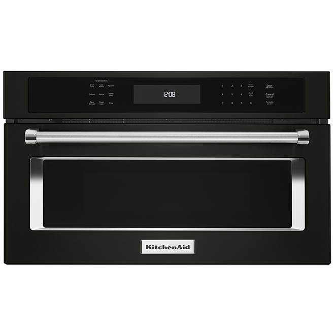 Built-In Microwave and Convection Oven - 30'' - Black SS