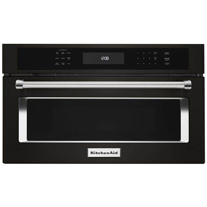 Built-In Microwave and Convection Oven - 27'' - Black SS