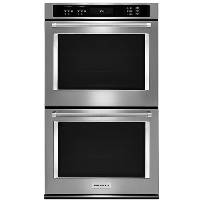 Kitchenaid Four mural double KitchenAid(MD), 30, 10 pi³, inox KODE500ESS