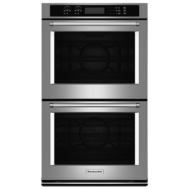 "Four mural double KitchenAid(MD), 27"", 8,6 pi³, inox"