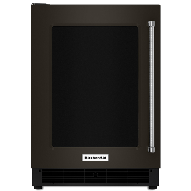 KitchenAid Undercounter Refrigerator - 5.1 cu. ft. - Black SS