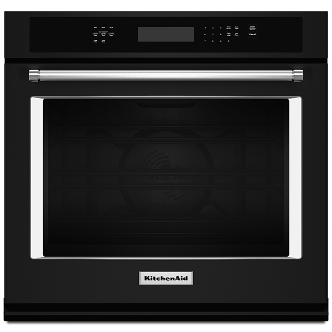 Kitchenaid Four mural électrique simple KitchenAid(MD), 5,0 pi³, 30, noir KOSE500EBL