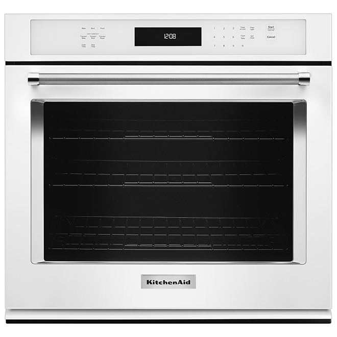 Kitchenaid Four mural électrique simple KitchenAid(MD), 27, blanc KOSE507EWH