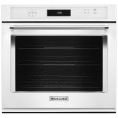 "KitchenAid(R) Simple Electric Wall Oven - 27"" - White"