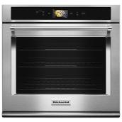 "KitchenAid(R) Built-In Oven with Speed Cook - 30"" - SS"