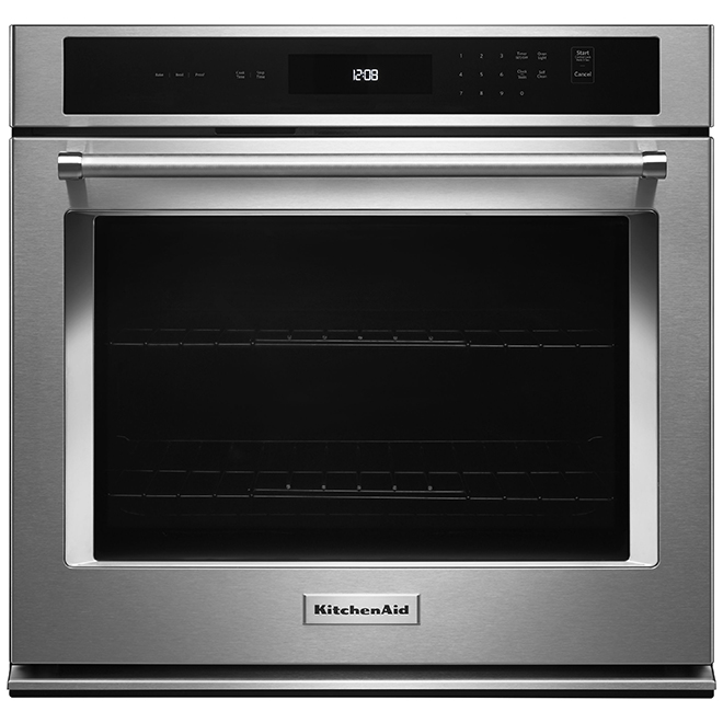 "Four encastré simple KitchenAid(MD), 27"", 4,3 pi³, inox"