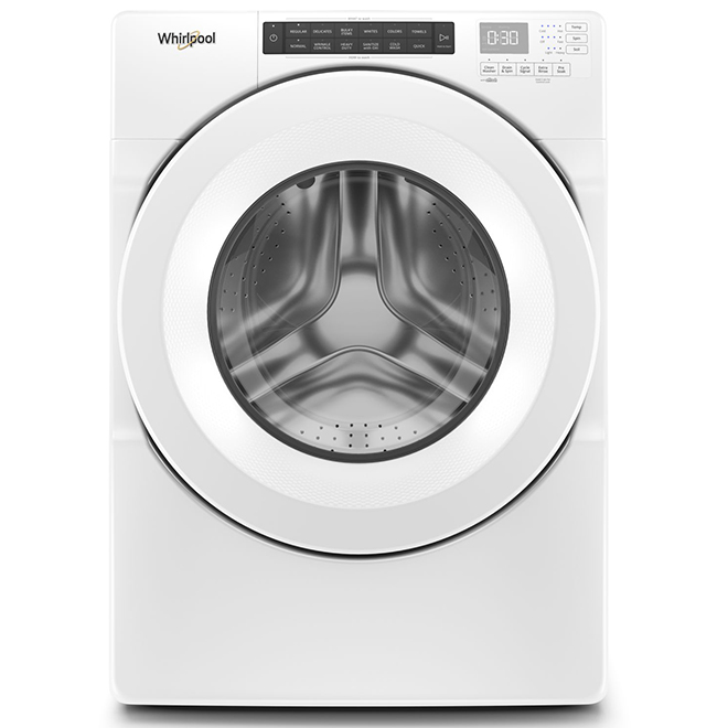 Whirlpool(TM) HE Front-Load Washer - 5.0 cu. ft. - White