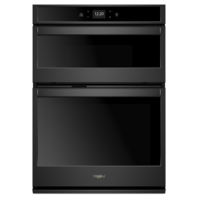 30'' Whirlpool(TM) Wall Double Oven - Self-Cleaning - Black