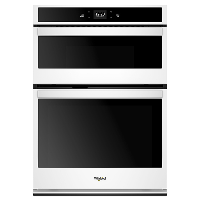 30'' Whirlpool(TM) Wall Oven/Microwave - Self-Cleaning - White