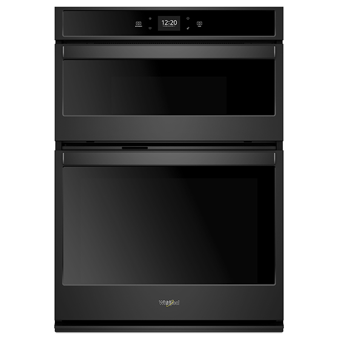 27'' Whirlpool(TM) Double Wall Oven - Self-Cleaning - Black
