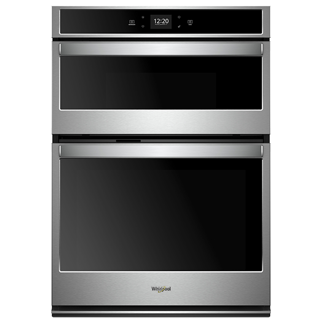 27'' Whirlpool Double Wall Oven - Self-Cleaning - Stainless