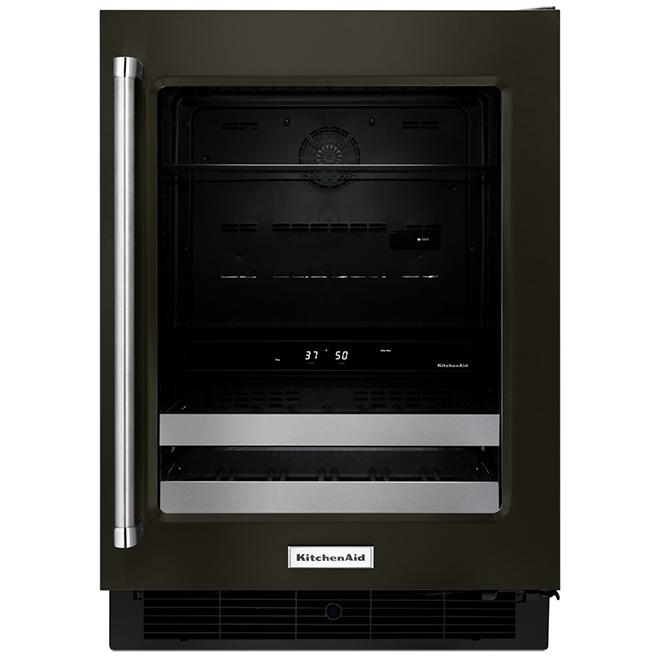 KitchenAid(R) Undercounter Refrigerator - 4.8 cu. ft. - Black SS