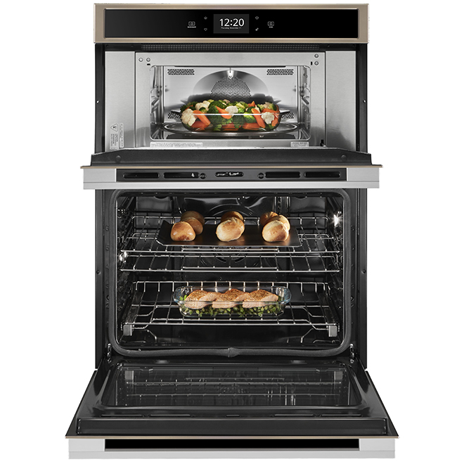 "Whirlpool(TM) Combination Wall Oven - 30"" - 6.4 cu. ft - Bronze"