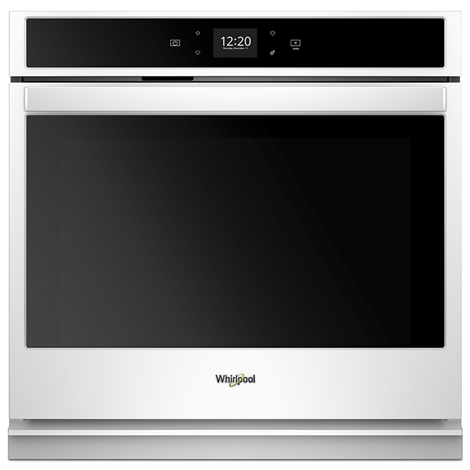 Whirlpool 30'' Smart Single Wall Oven - Touchscreen - White