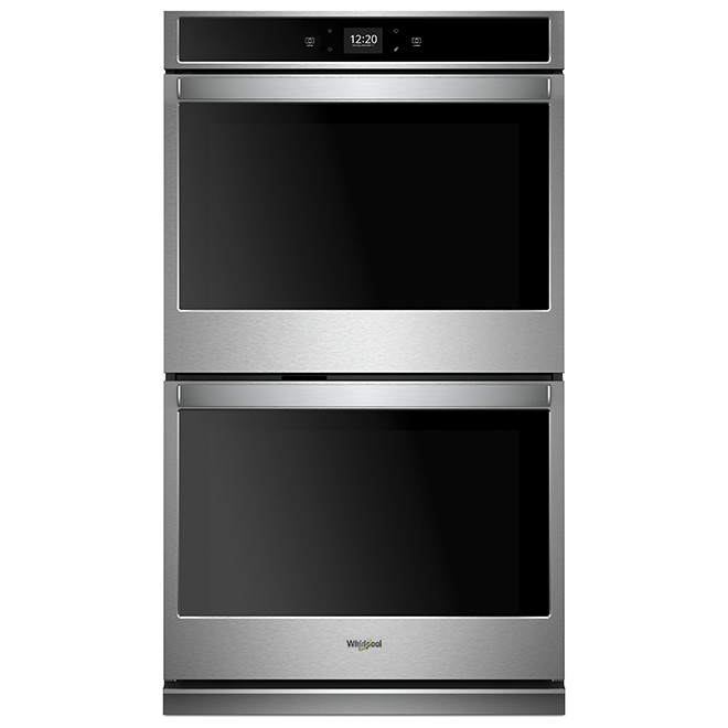 """Whirlpool(TM) Smart Double Wall Oven - 30"""" - 10 cu. ft. - SS"""