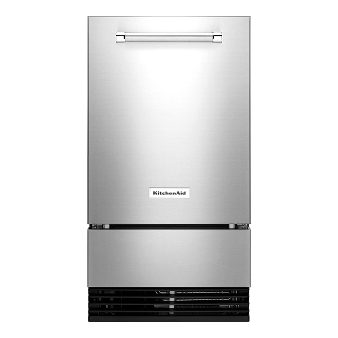 "KitchenAid(R) Ice Maker with Auto Defrost Unit - 18"" - SS"