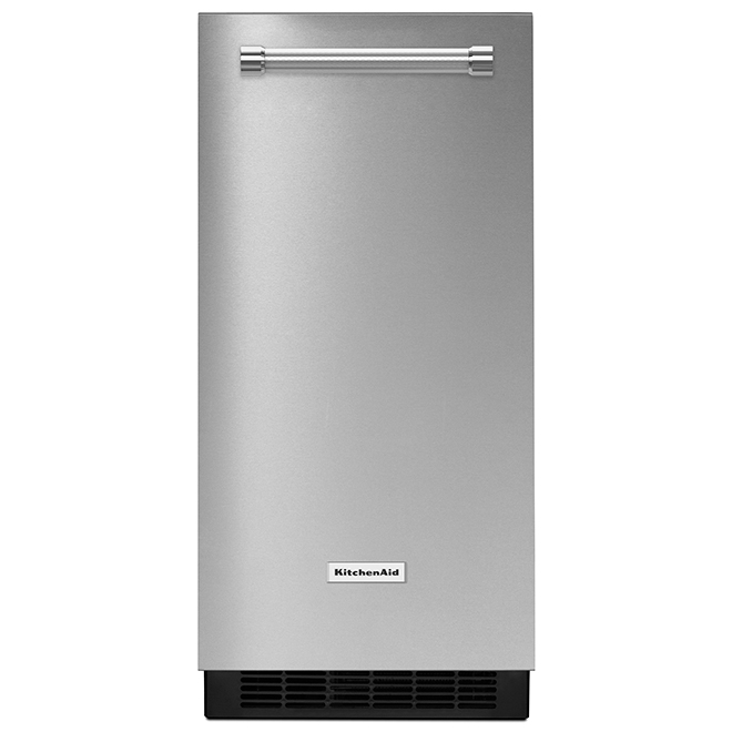 Kitchenaid Machine à glaçons, dégivrage automatique 15, inox KUIX335HPS