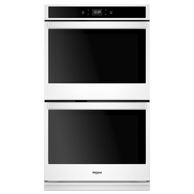 "Four mural double intelligent Whirlpool(MC), 30"", 10 pi³, blanc"