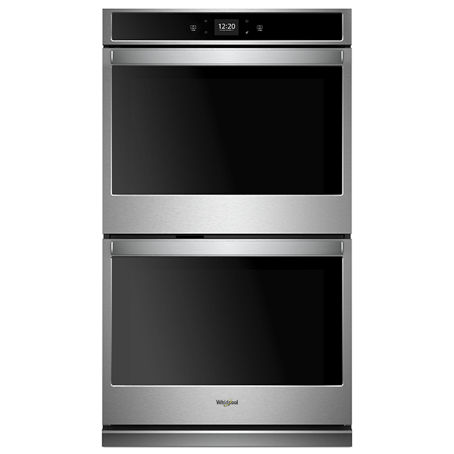 """Whirlpool(TM) Smart Double Wall Oven - 27"""" - 8.6 cu. ft - SS"""