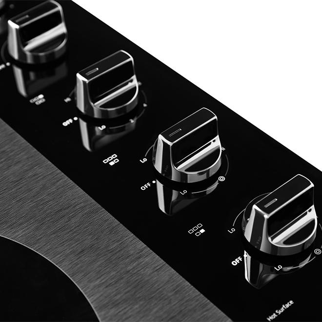 """Whirlpool(TM) 5-Burner Electric Cooktop - 30"""" - Black"""