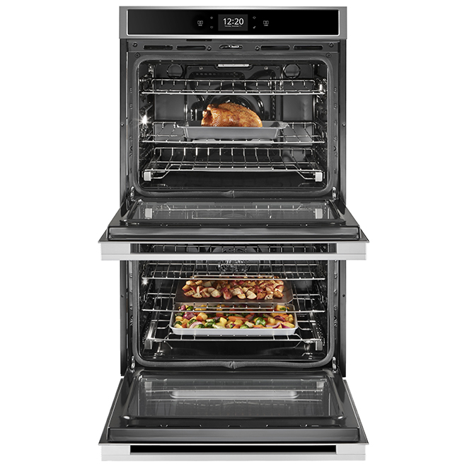 """Whirlpool Smart Double Wall Oven - 10.0 cu. ft - 30"""" - SS"""