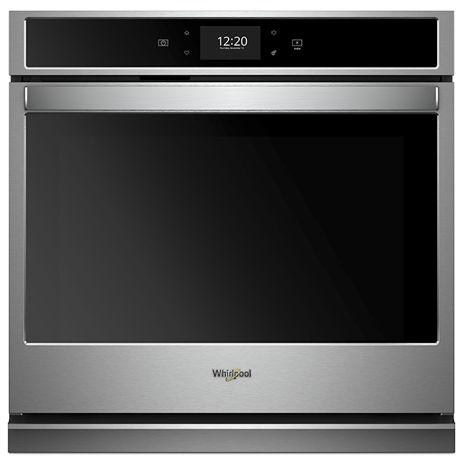 Whirlpool 30'' Smart Single Wall Oven Touchscreen - Stainless
