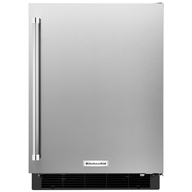 "KitchenAid Under-Counter Refrigerator - 24"" - 4.9 cu. ft. - SS"